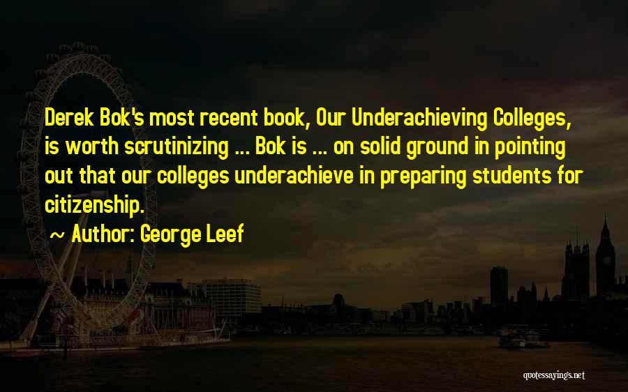 Preparing Quotes By George Leef