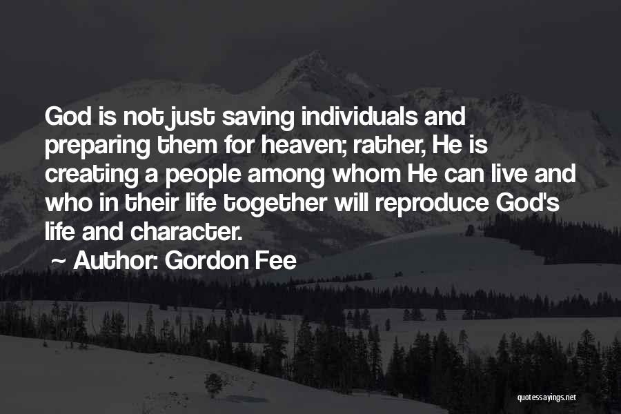 Preparing Quotes By Gordon Fee