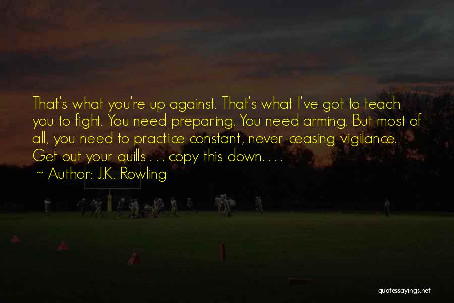 Preparing Quotes By J.K. Rowling