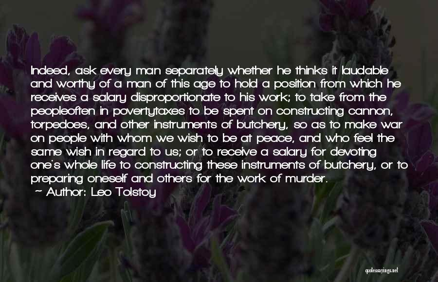 Preparing Quotes By Leo Tolstoy