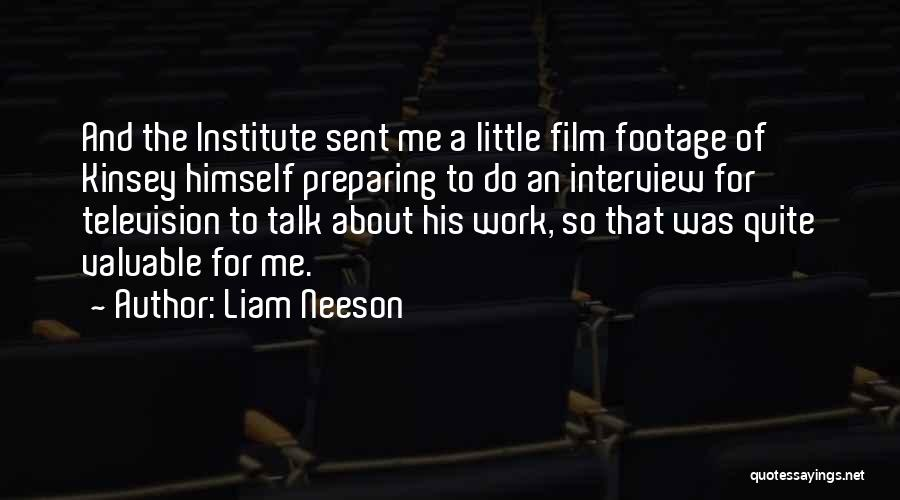 Preparing Quotes By Liam Neeson