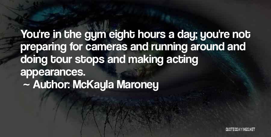 Preparing Quotes By McKayla Maroney