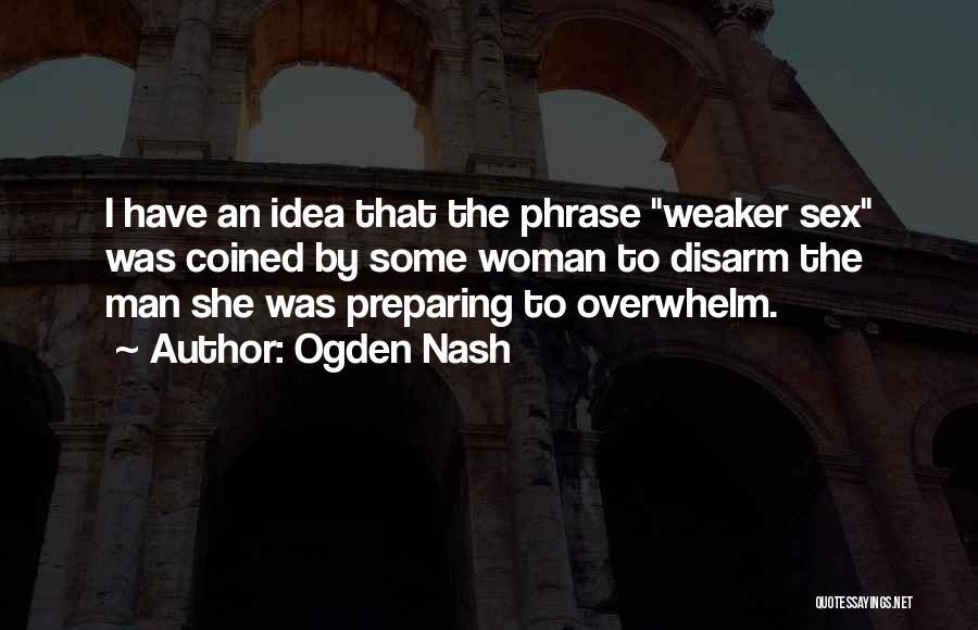 Preparing Quotes By Ogden Nash