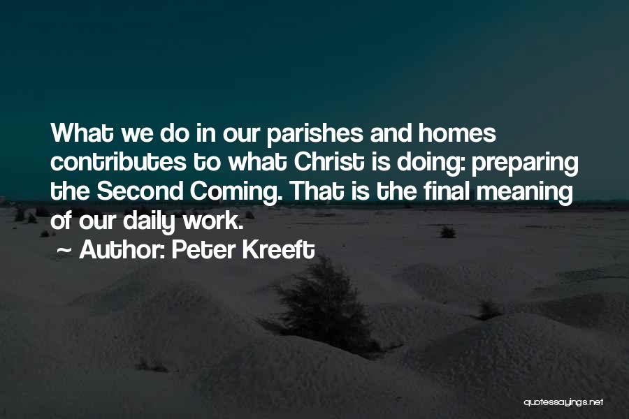 Preparing Quotes By Peter Kreeft