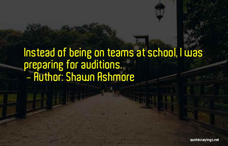 Preparing Quotes By Shawn Ashmore