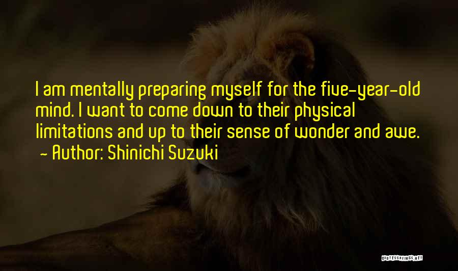 Preparing Quotes By Shinichi Suzuki