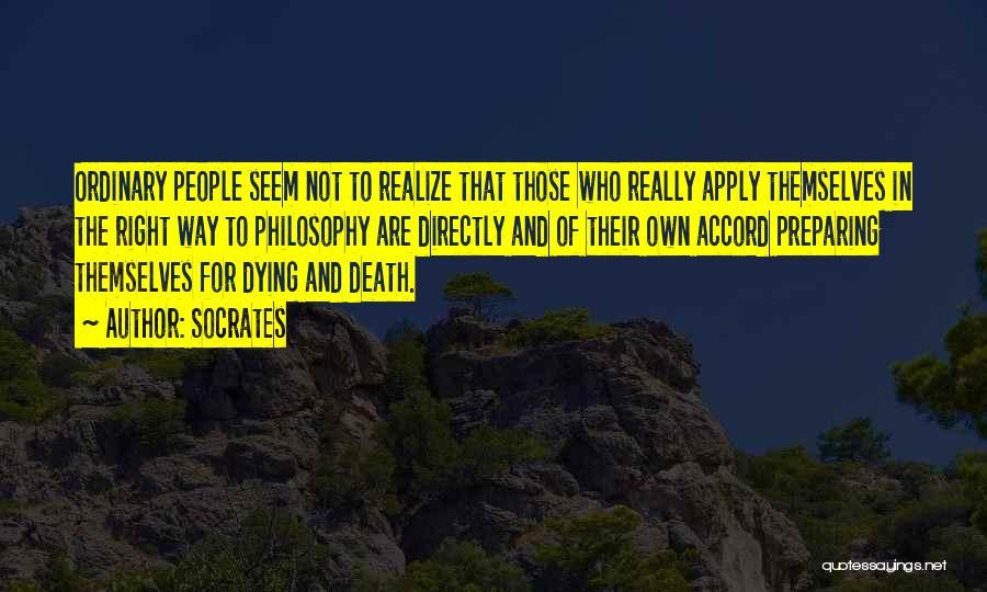Preparing Quotes By Socrates