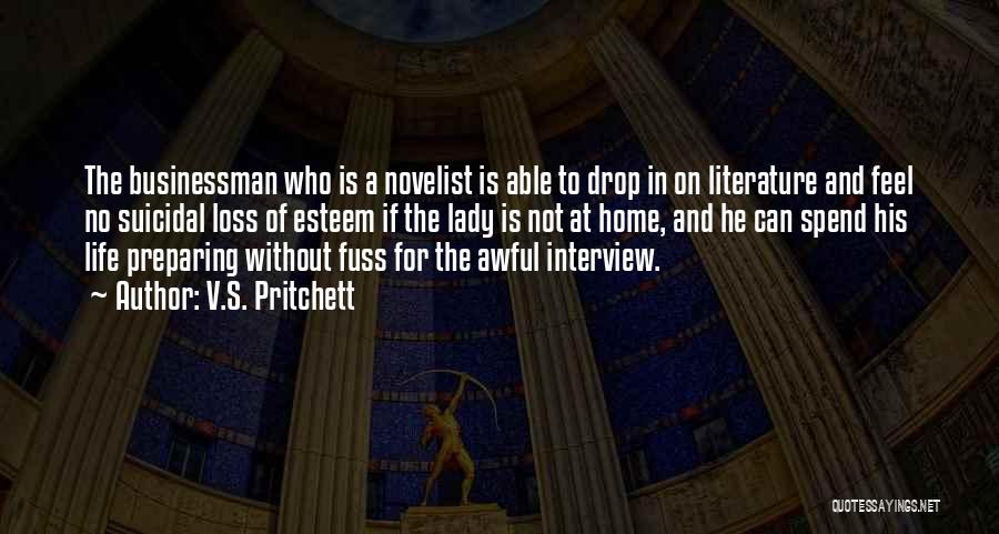Preparing Quotes By V.S. Pritchett