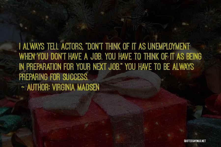 Preparing Quotes By Virginia Madsen