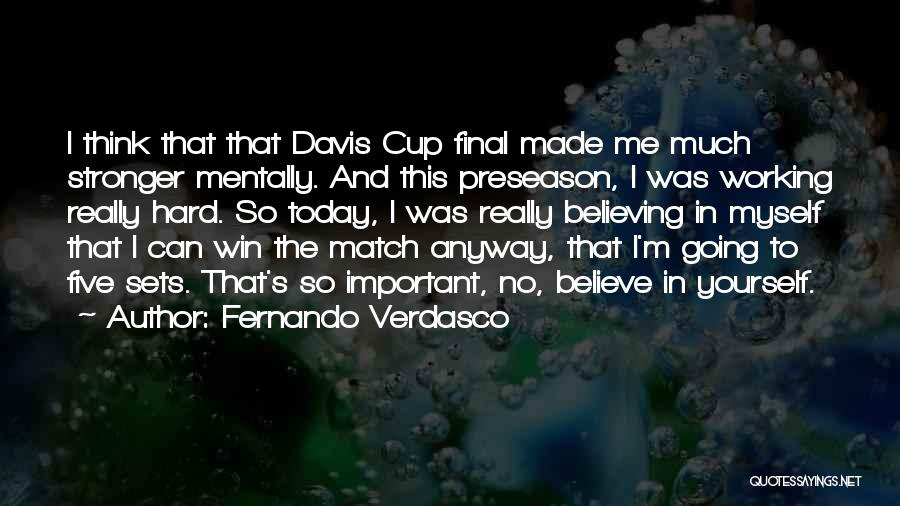Preseason Quotes By Fernando Verdasco
