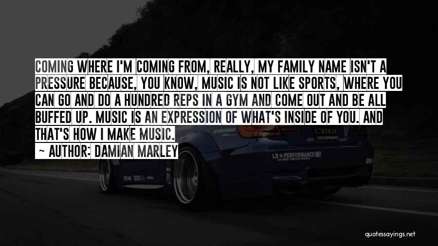 Pressure In Sports Quotes By Damian Marley