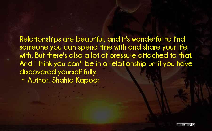 Pressure To Be Beautiful Quotes By Shahid Kapoor