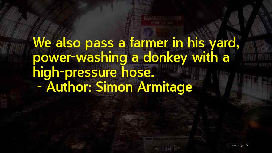 Pressure Washing Quotes By Simon Armitage