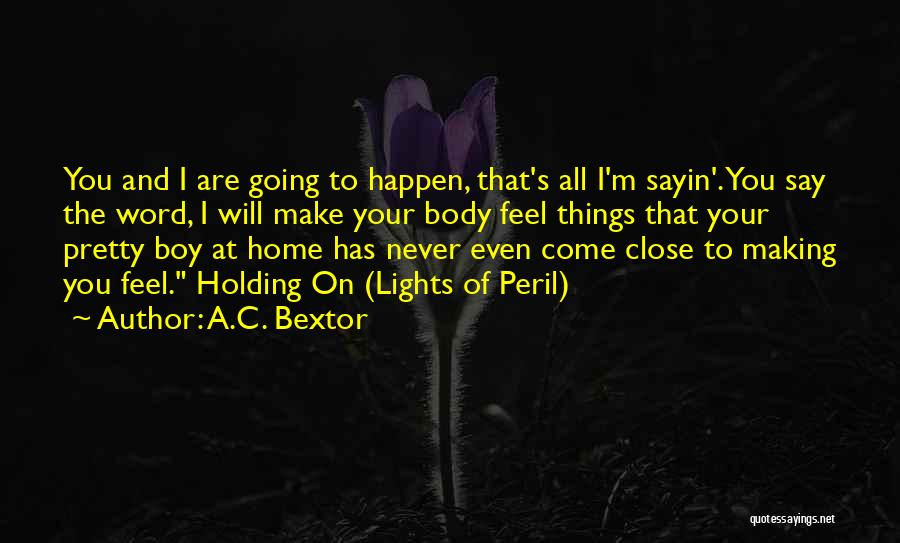 Pretty Lights Quotes By A.C. Bextor