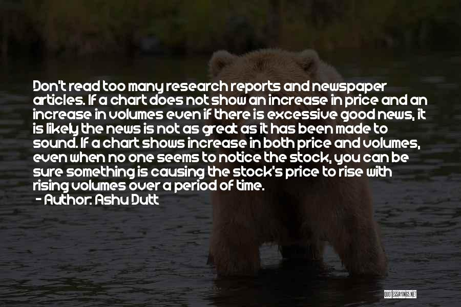 Price Reports Quotes By Ashu Dutt