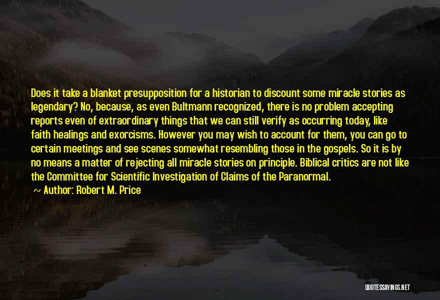 Price Reports Quotes By Robert M. Price