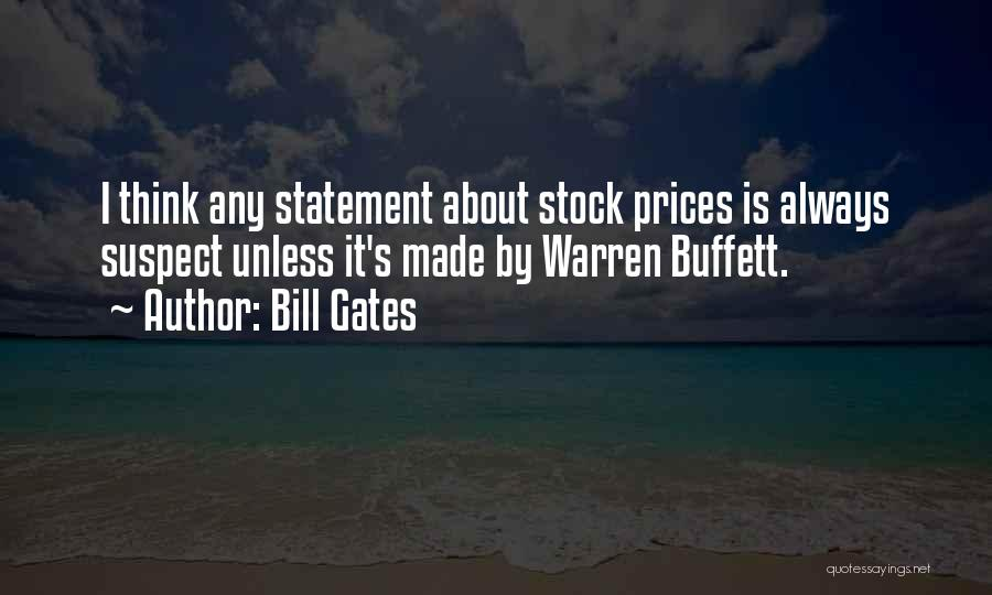 Prices Quotes By Bill Gates