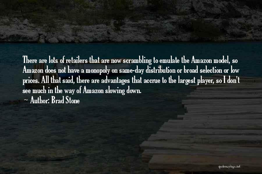 Prices Quotes By Brad Stone