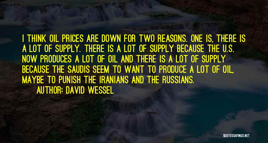 Prices Quotes By David Wessel