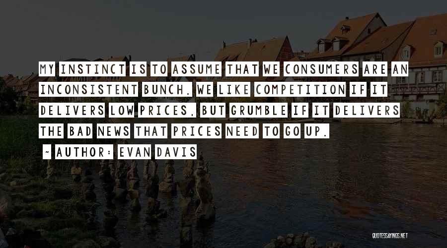 Prices Quotes By Evan Davis