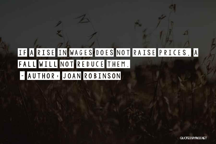 Prices Quotes By Joan Robinson