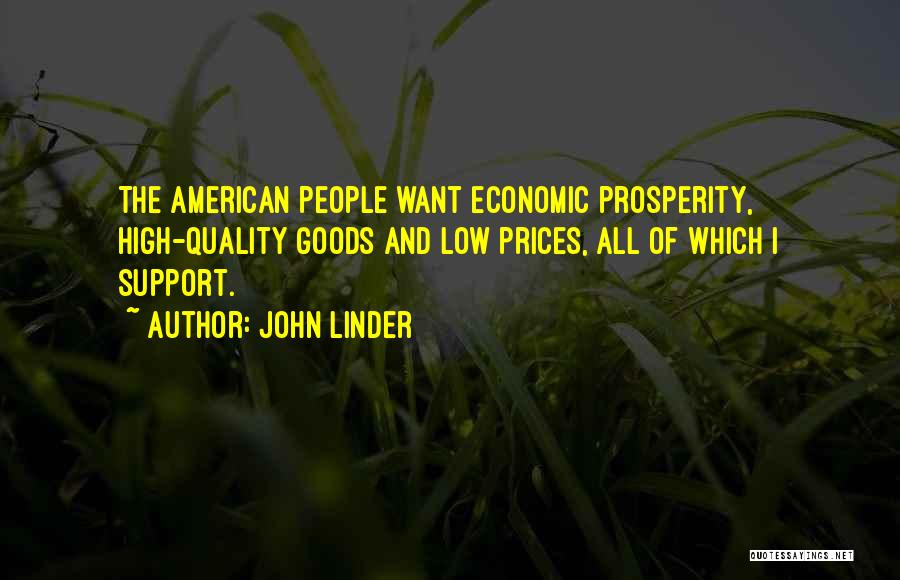 Prices Quotes By John Linder