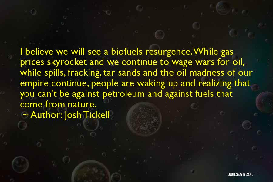 Prices Quotes By Josh Tickell