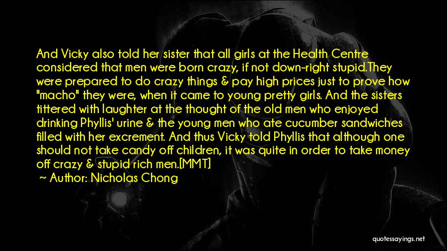 Prices Quotes By Nicholas Chong