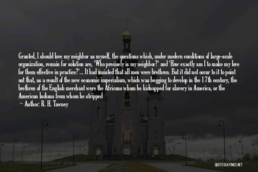 Prices Quotes By R. H. Tawney
