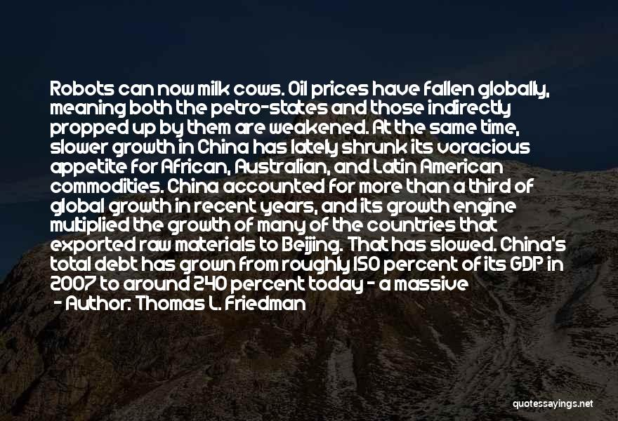 Prices Quotes By Thomas L. Friedman