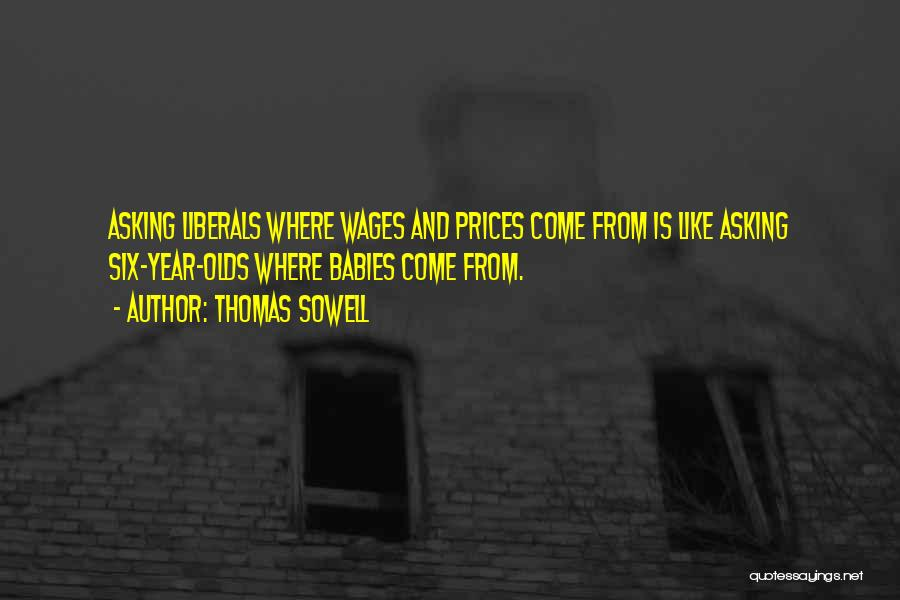 Prices Quotes By Thomas Sowell
