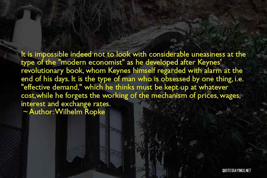 Prices Quotes By Wilhelm Ropke