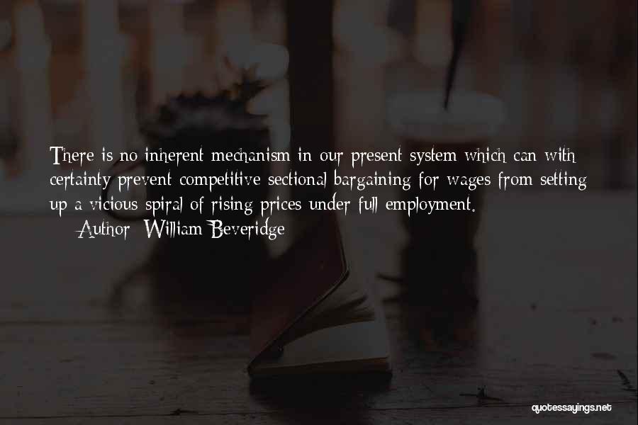 Prices Quotes By William Beveridge