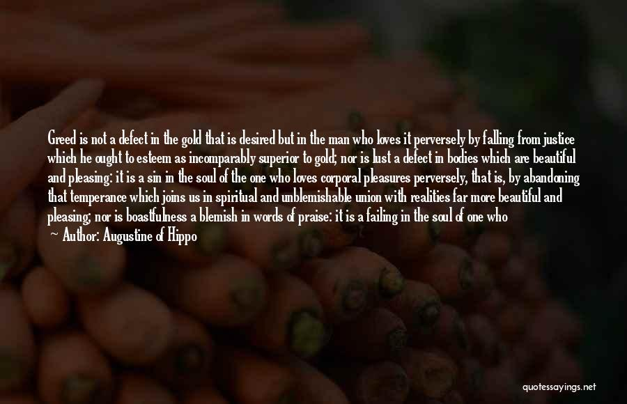 Pride Of Love Quotes By Augustine Of Hippo