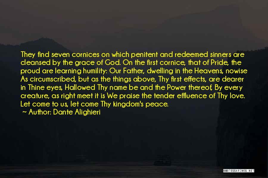 Pride Of Love Quotes By Dante Alighieri