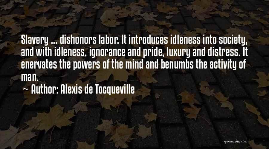 Pride Of Man Quotes By Alexis De Tocqueville