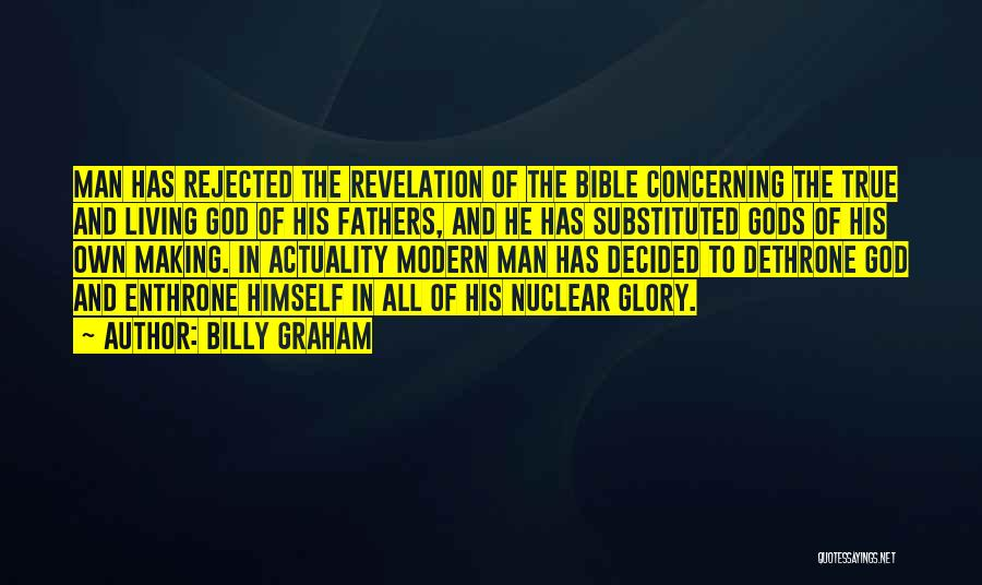 Pride Of Man Quotes By Billy Graham