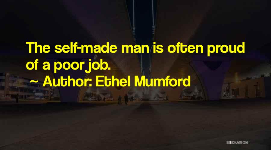 Pride Of Man Quotes By Ethel Mumford