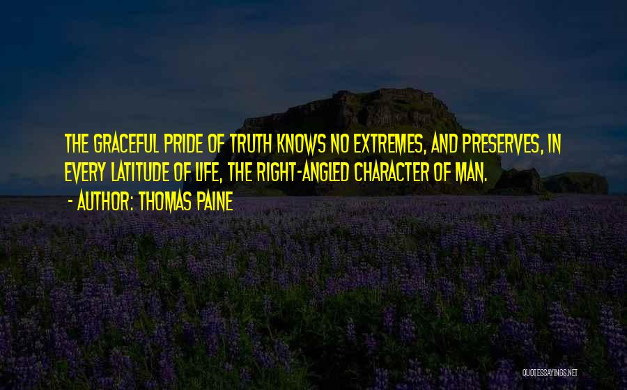 Pride Of Man Quotes By Thomas Paine
