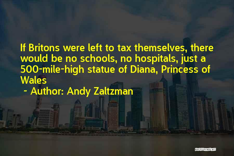Princess Of Wales Quotes By Andy Zaltzman