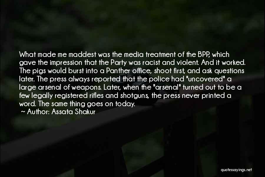 Printed Word Quotes By Assata Shakur
