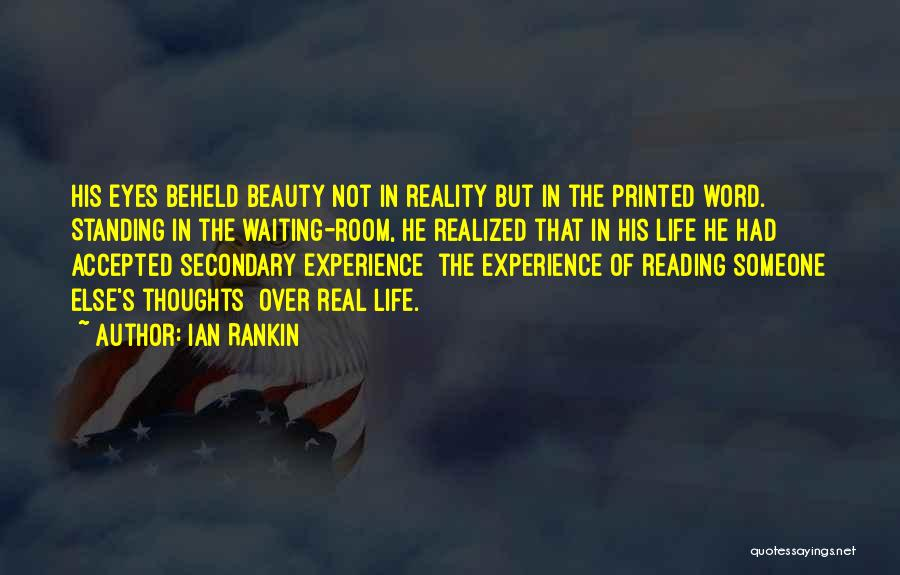 Printed Word Quotes By Ian Rankin