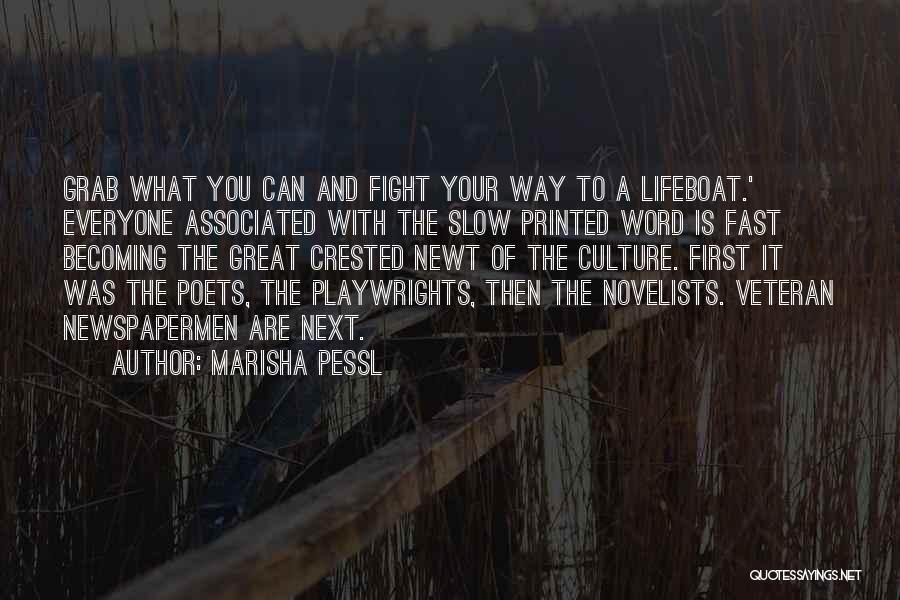 Printed Word Quotes By Marisha Pessl