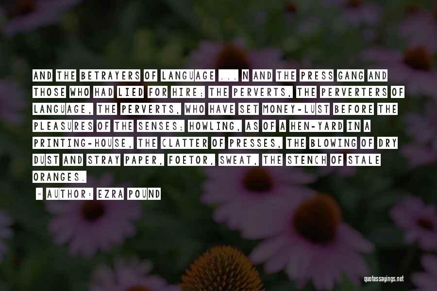 Printing Money Quotes By Ezra Pound