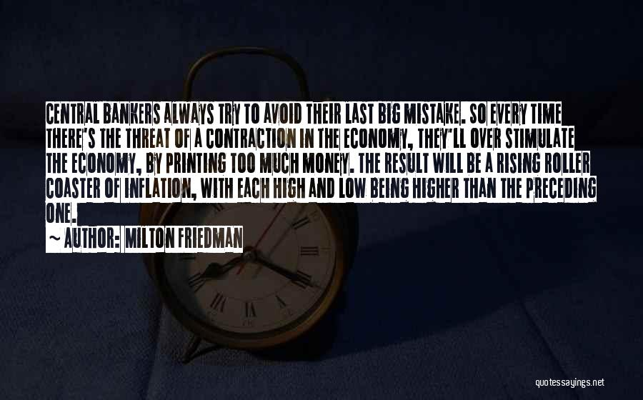 Printing Money Quotes By Milton Friedman