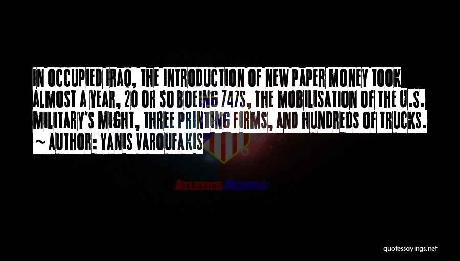 Printing Money Quotes By Yanis Varoufakis