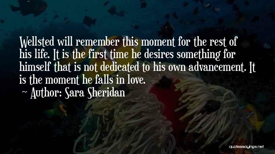 Priorities In Love Quotes By Sara Sheridan