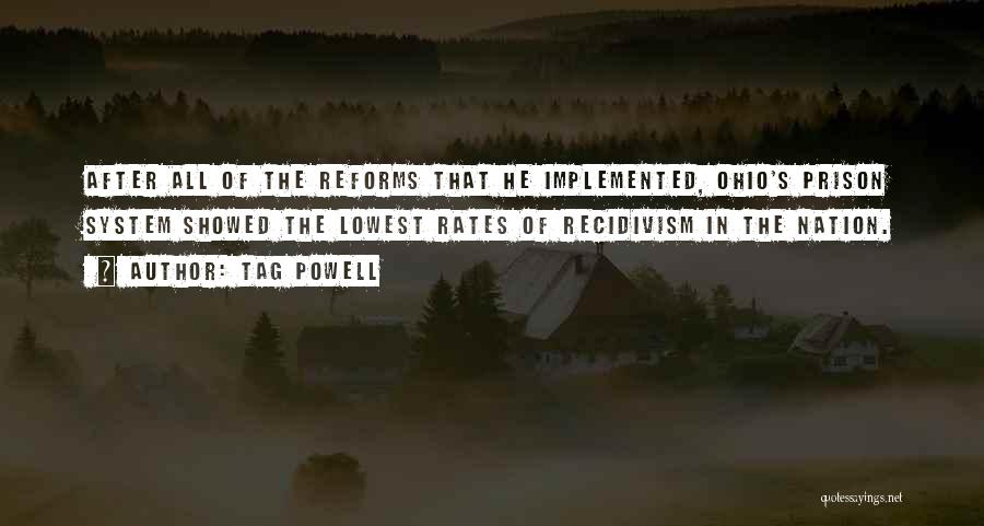 Prison Reforms Quotes By Tag Powell