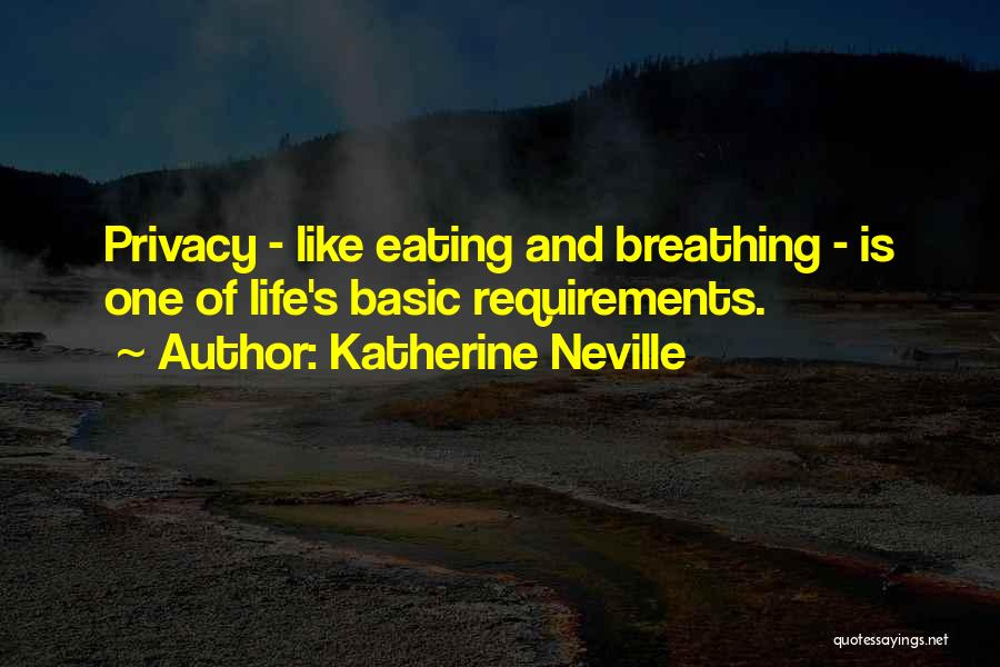Privacy And Secrecy Quotes By Katherine Neville