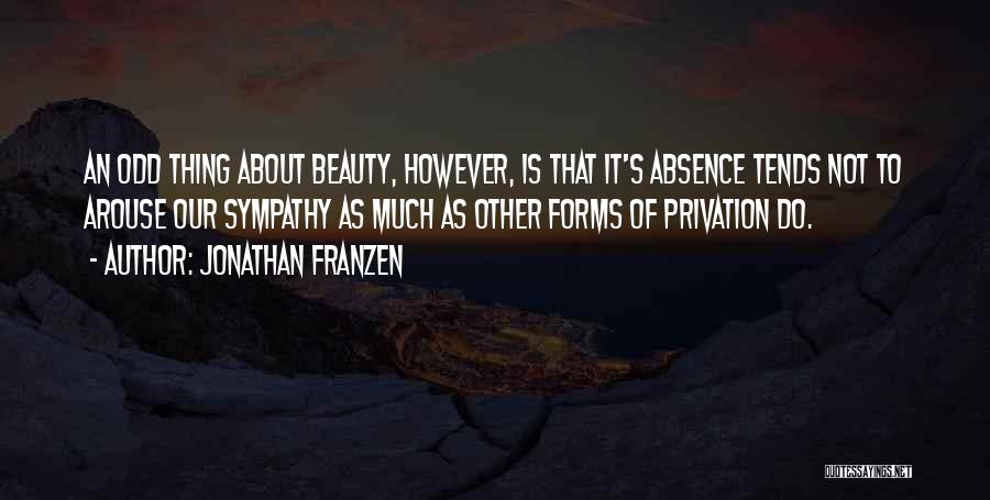 Privation Quotes By Jonathan Franzen